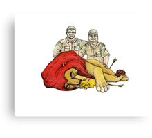 A Modern fairy tail, The Lion king Canvas Print