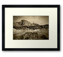 Jersey Cove  Framed Print