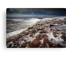 Ice and Snow Landscape Canvas Print