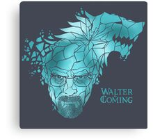 Walter is Coming Canvas Print