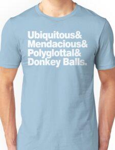 The Expanse Helvetica List Unisex T-Shirt