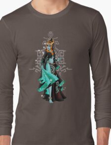 Gaming Princess: Midna (turquoise) Long Sleeve T-Shirt