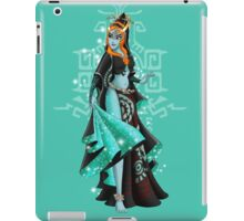 Gaming Princess: Midna (turquoise) iPad Case/Skin
