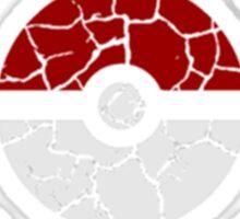 Broken Kanto Badges - Pokemon Sticker