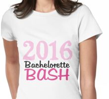 2016 Pink Bachelorette Bash  Womens Fitted T-Shirt