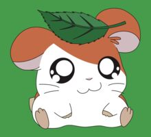 Hamtaro with Leaf Baby Tee
