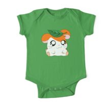 Hamtaro with Leaf One Piece - Short Sleeve