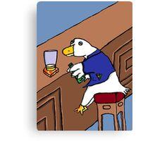 Duckweiser Canvas Print