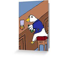Duckweiser Greeting Card