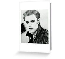 Justin Beiber Drawing  Greeting Card