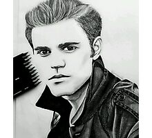 Justin Beiber Drawing  Photographic Print