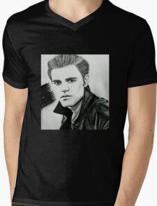 Justin Beiber Drawing  Mens V-Neck T-Shirt