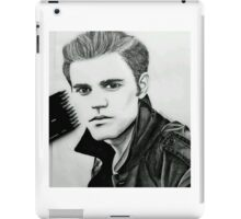 Justin Beiber Drawing  iPad Case/Skin