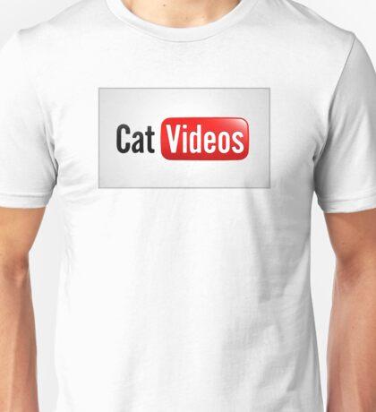 Funny Cat Videos Unisex T-Shirt