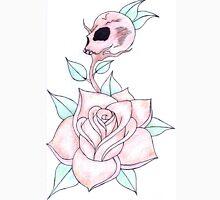 rose & skull bud Unisex T-Shirt