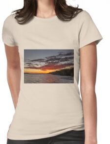 Bremer Bay Sunrise Womens Fitted T-Shirt