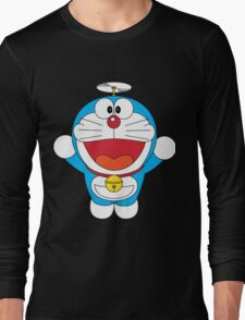 Doraemon Flying Long Sleeve T-Shirt