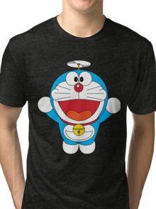 Doraemon Flying Tri-blend T-Shirt