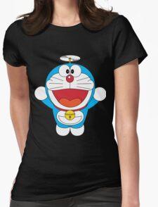 Doraemon Flying Womens Fitted T-Shirt