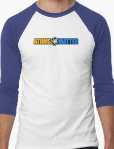 Atoms Matter Men's Baseball ¾ T-Shirt