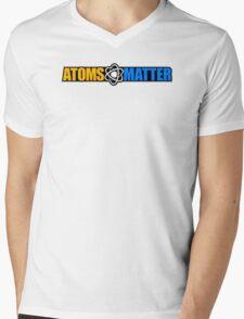 Atoms Matter Mens V-Neck T-Shirt