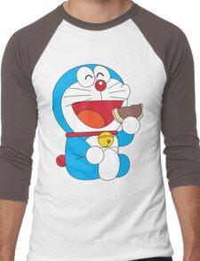 Doraemon Dorayaki Men's Baseball ¾ T-Shirt