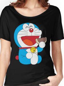 Doraemon Dorayaki Women's Relaxed Fit T-Shirt