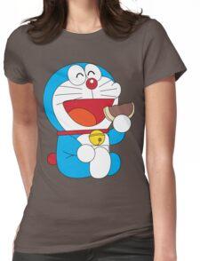 Doraemon Dorayaki Womens Fitted T-Shirt