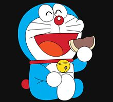 Doraemon Dorayaki Women's Fitted Scoop T-Shirt