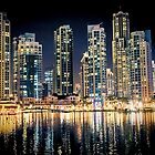 United Arab Emirates. Dubai. Night Lights. by vadim19