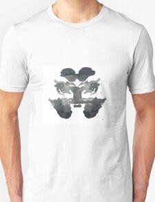 Rabbit Ink Blot  Unisex T-Shirt