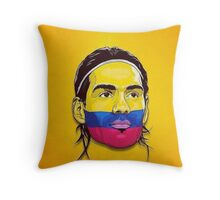 Falcao Colombia Throw Pillow
