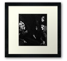 The Talk Framed Print