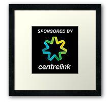 Sponsored By Centrelink Framed Print