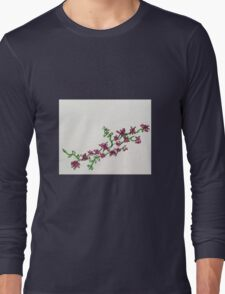 pink flower vine T-Shirt