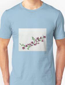 pink flower vine T-Shirt