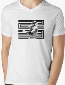 23- Triumph BW Mens V-Neck T-Shirt