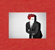 Gerard Way Black/White/Red Tri-blend T-Shirt
