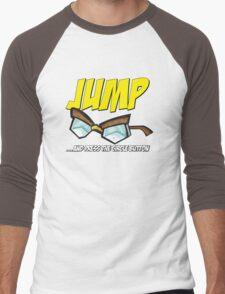 Jump... Men's Baseball ¾ T-Shirt