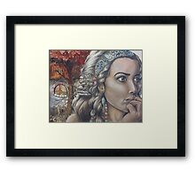On My Mind Framed Print