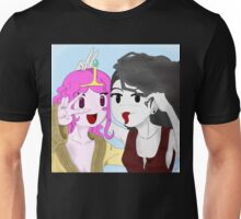 Marcy and PBubs photo booth Unisex T-Shirt