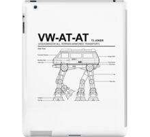 VW Westfalia AT-AT T3 Joker Blueprint iPad Case/Skin
