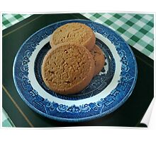 Nice things come in threes -  Mild Ginger Biscuits Poster