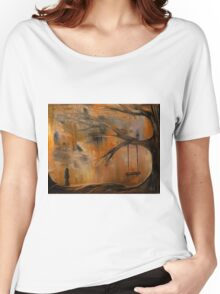The Lonely Girl Women's Relaxed Fit T-Shirt