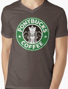 Pony - Starbucks Mens V-Neck T-Shirt