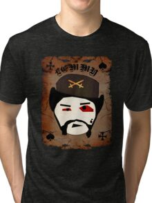 Lemmy Motörhead Tri-blend T-Shirt