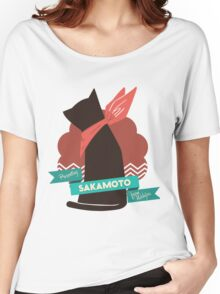 Nichijou Sakamoto  Women's Relaxed Fit T-Shirt