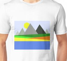Abstract Landscape Unisex T-Shirt