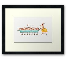 Mother Rabbit Framed Print