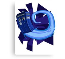 Dr. Who Tardis Canvas Print
